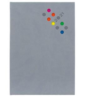 Weekly Diary A5 poznámkový Berry grey 2021