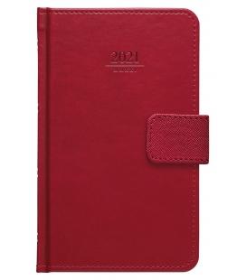 Weekly Pocket Diary Gemma s poutkem red 2021