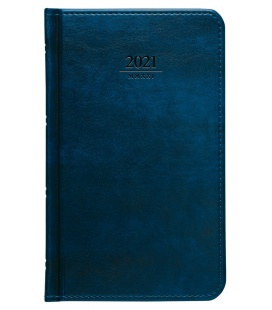 Weekly Pocket Diary Atlas blue 2021
