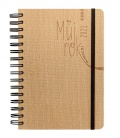 Weekly Diary A5 Smart se spirálou beige 2021