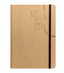 Weekly Diary A5 Smart beige 2021