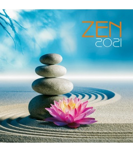 Wall calendar Zen 2021