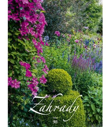 Wall calendar Zahrady 2021