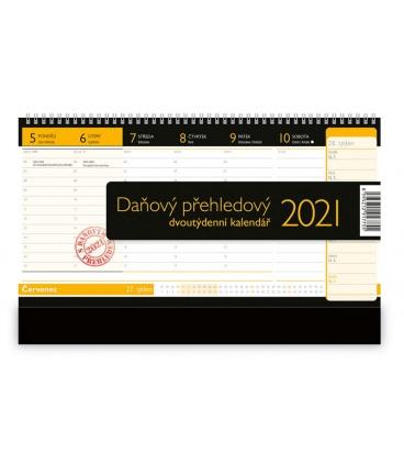 Table calendar Daňový přehledový 2021