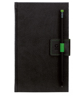 Notepad G-Notepad no.2 black, green 2021