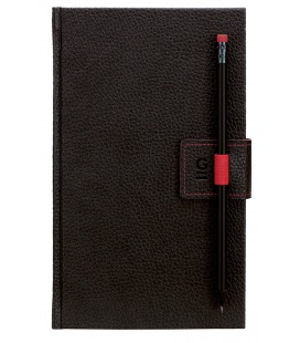 Notepad G-Notepad no.2 black, red 2021