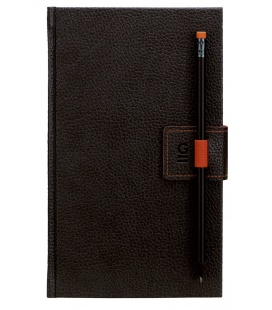 Notepad G-Notepad no.2 black, orange 2021