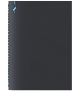 Notepad A5 Pop black, blue 2021