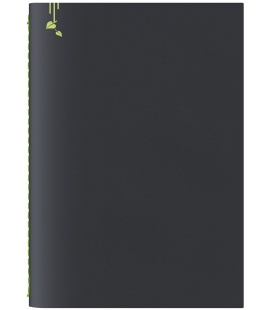 Notepad A5 Pop black, green 2021