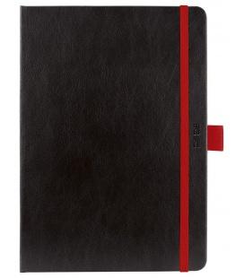Daily Diary A5 slovak Nero black, red 2021