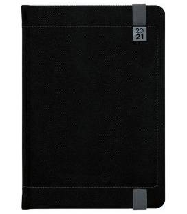 Daily Diary A5 slovak Inverso black, grey 2021