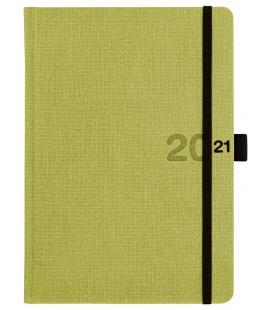 Daily Diary A5 slovak Canvas green, black 2021