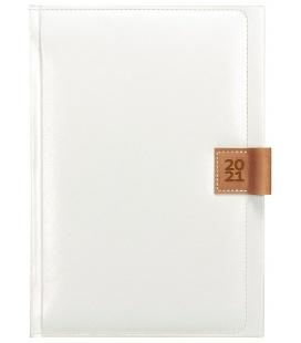 Daily Diary A5 slovak Nody white, brown 2021