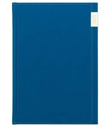 Daily Diary A5 slovak Joy blue, white 2021