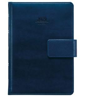 Daily Diary A5 slovak Atlas s poutkem blue 2021