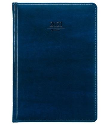 Daily Diary A5 slovak Atlas blue 2021