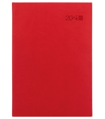 Daily Diary A5 slovak Viva red (Karmé) 2021