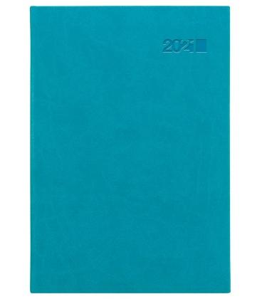 Daily Diary A5 slovak Viva turquoise (Carina) 2021