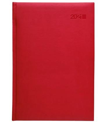 Weekly Diary B5 slovak Viva red (Karmé) 2021