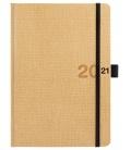 Weekly Diary A5 poznámkový slovak Canvas beige, black 2021