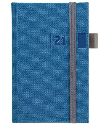 Weekly Pocket Diary slovak Tweed blue, grey 2021