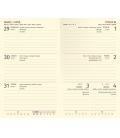 Weekly Pocket Diary slovak Trendy red, black 2021