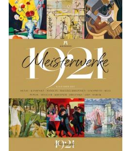 Wall calendar Meisterwerke 1921 - Kunst-Kalender 2021
