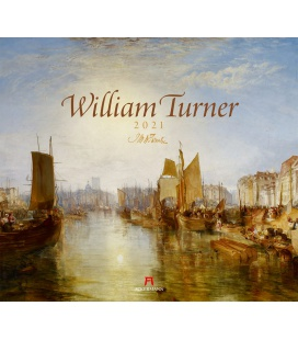 Wall calendar William Turner Kalender 2021