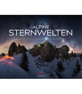 Wall calendar Alpine Sternwelten Kalender 2021
