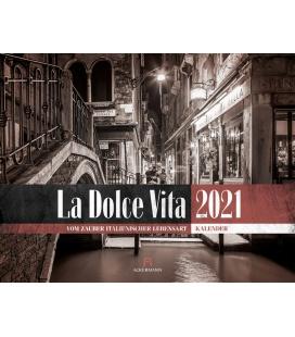 Wall calendar La Dolce Vita - Italienische Lebensart Kalender 2021