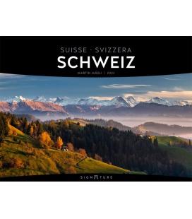 Wall calendar Schweiz - Signature Kalender 2021