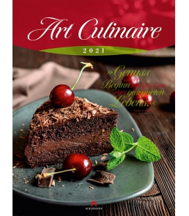 Wall calendar Art Culinaire Kalender 2021