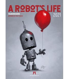 Wall calendar A Robot's Life Kalender 2021