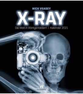 Wall calendar X-Ray - Nick Veasey, Die Welt in Röntgenbildern, Kalender 2021