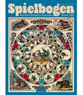 Wall calendar Spielbogen Kalender - Historischer Spielspaß 2021