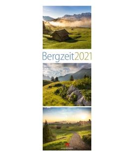 Wall calendar Bergzeit Kalender 2021