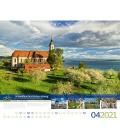 Wall calendar Deutschlands schönste Radfernwege Kalender 2021