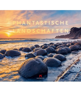 Wall calendar Phantastische Landschaften Kalender 2021