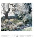 Wall calendar Paradiesische Gärten Kalender 2021