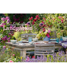 Wall calendar Zauberhafte Landgärten Kalender 2021