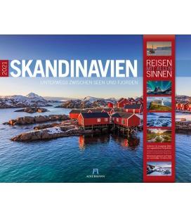 Wall calendar Skandinavien Kalender 2021