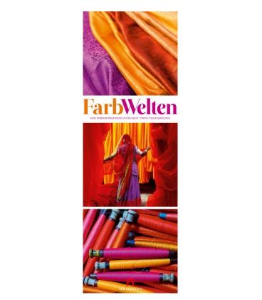 Wall calendar FarbWelten - Weltreise Triplet-Kalender 2021