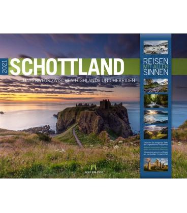 Wall calendar Schottland Kalender 2021