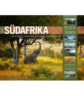 Wall calendar Südafrika Kalender 2021