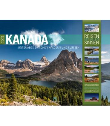 Wall calendar Kanada Kalender 2021