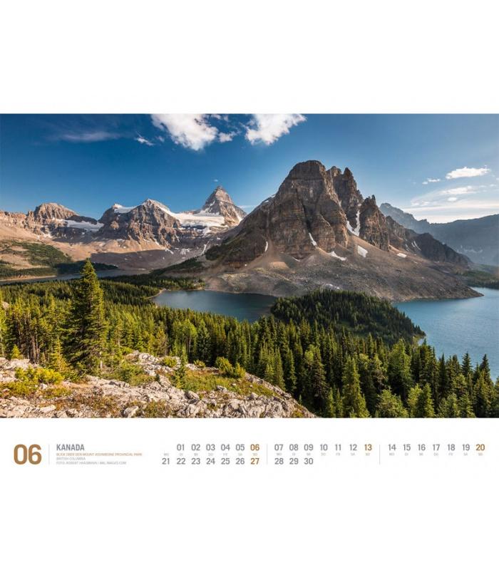 Kalender Kanada 2021