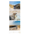 Wall calendar Wellengang - Meer und Küste, Triplet-Kalender 2021