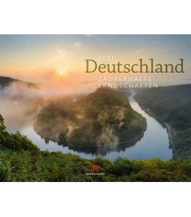 Wall calendar Deutschland - Zauberhafte Landschaften Kalender 2021