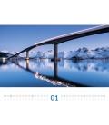 Wall calendar Brücken Kalender 2021