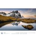 Wall calendar Island Kalender 2021